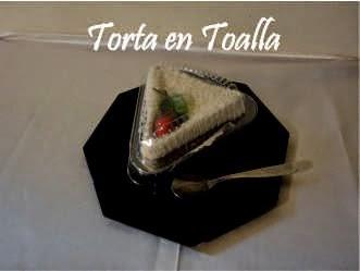 Torta en Toalla