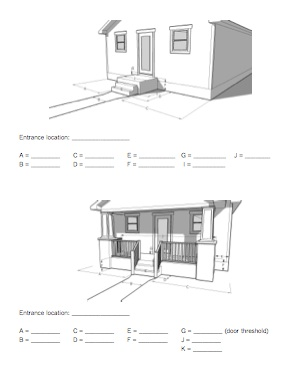 Ada how to design build a wheelchair ramp based on ada Ada compliant homes