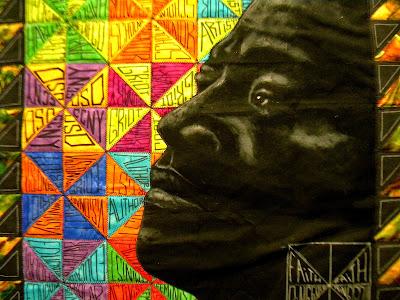 Harlem Memorabilia Reflections in Fiber