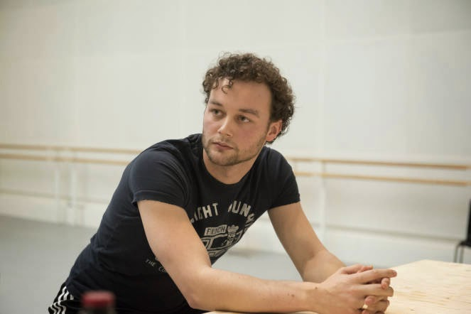 Liam Scarlett (image credit Royal Opera House)