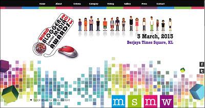 Pengundian MSMW 2013 sudah bermula