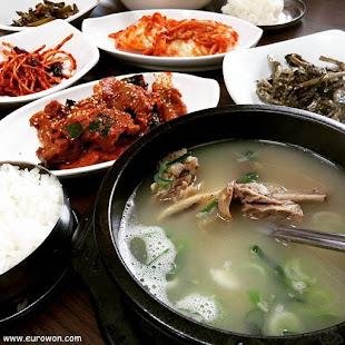 Galbitang coreano