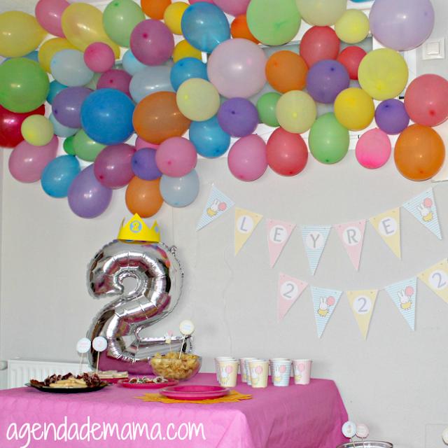 Segundo cumpleaños: Fiesta Pinterest DIY