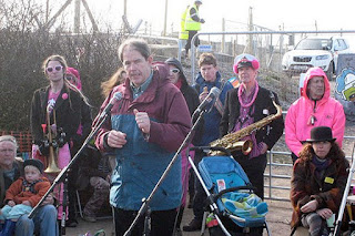 Jonathan Porritt at Hinkley C protest