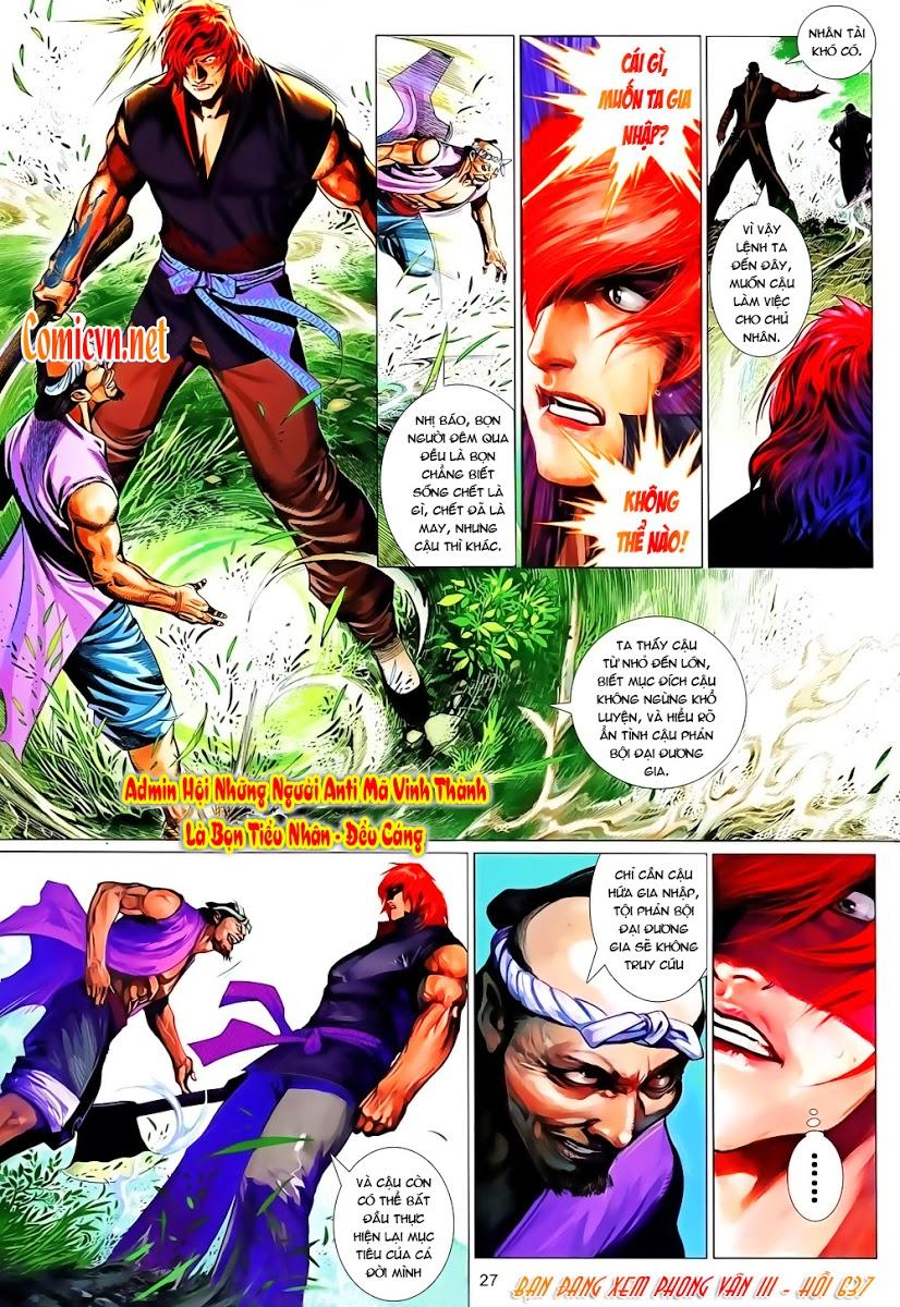 Phong Vân chap 637 Trang 27 - Mangak.info
