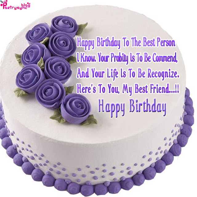 Birthday Cake Images To Friend : The biggest poetry and wishes website of the world ...