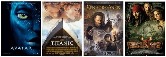 TOP 15 maiores bilheterias da história do Cinema!