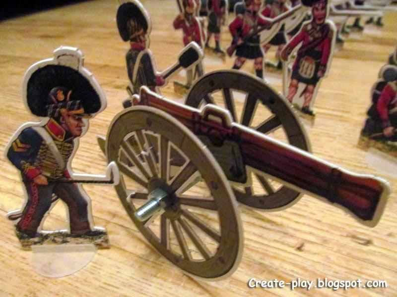 Битва при Катр-Бра солдатики