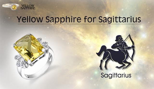Yellow Sapphire Gemstone for Sagittarius