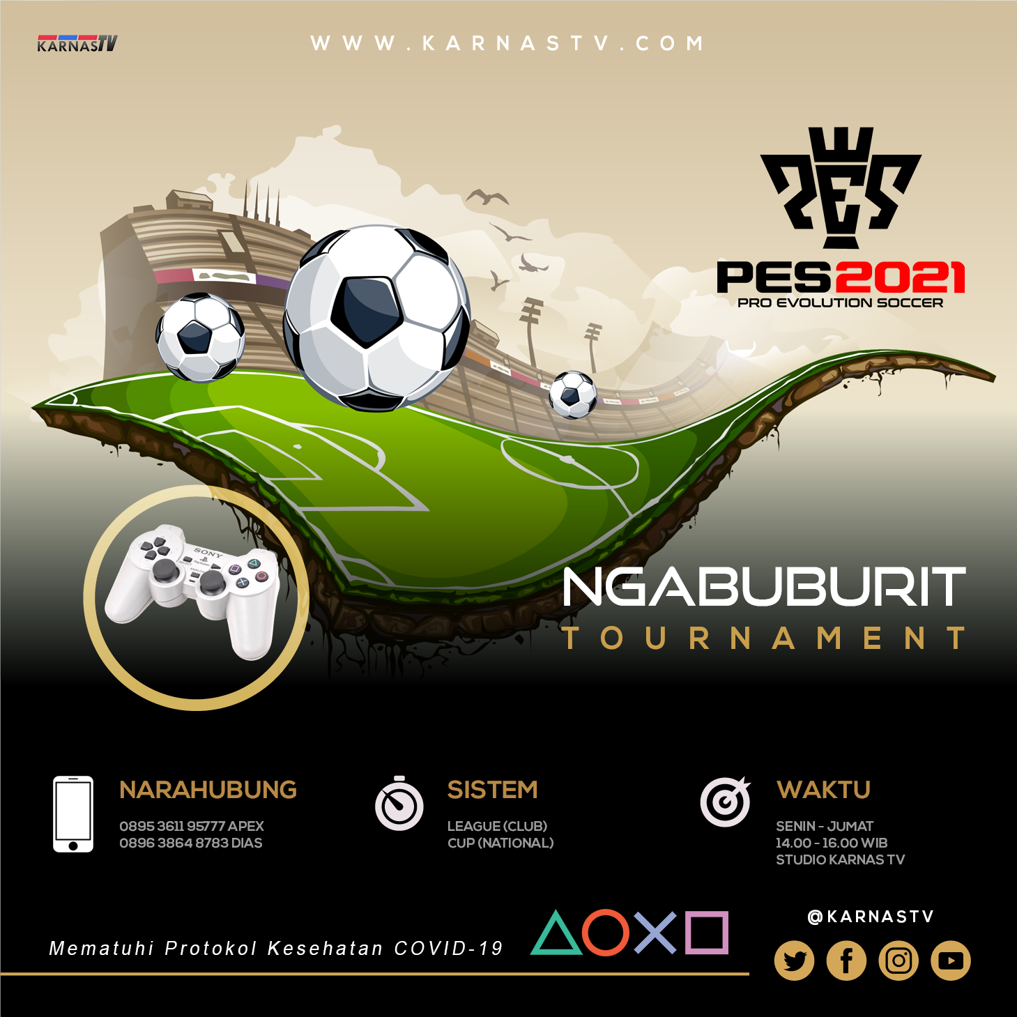 NGABUBURIT TOURNAMENT