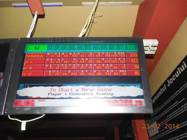 bowling la dublu