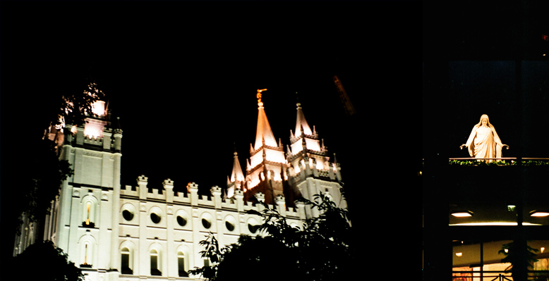 Salt Lake City Utah Temple, October 15, 1999