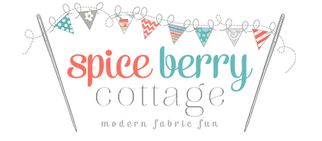 Spice Berry Cottage Modern Fabric Fun :: OrganizingMadeFun.com