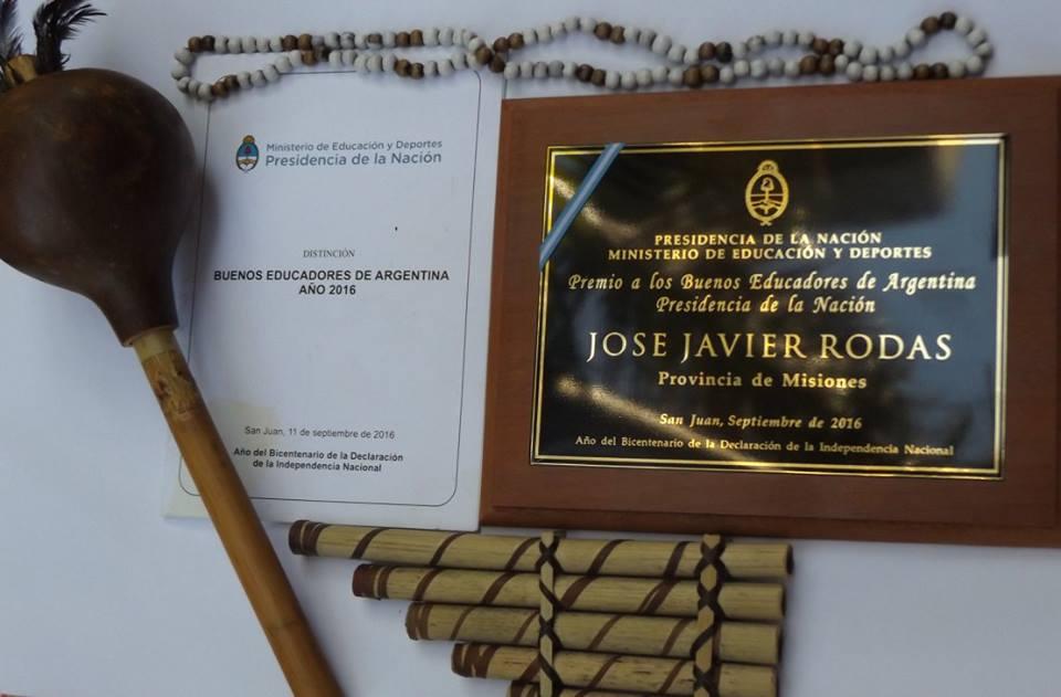 Premio Buenos Educadores de Argentina Año 2.016