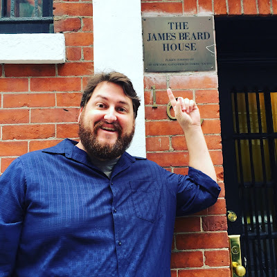 Jay Ducote at the James Beard House
