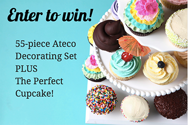 Enter To Win The PERFECT Cupcake Set and Class