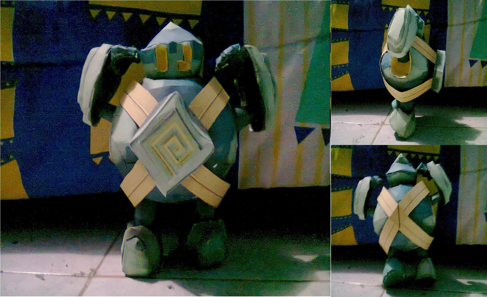 Pokemon Golett Papercraft