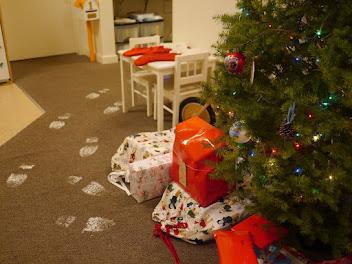 Santa Footprints