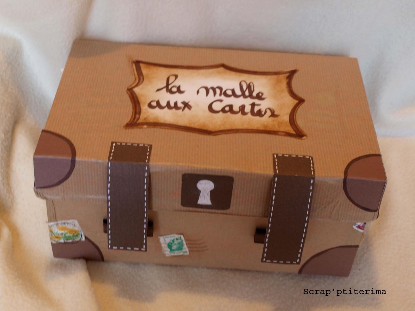 Scrap 39 ptiterima cartes de voeux - Comment decorer une boite a mouchoir en bois ...