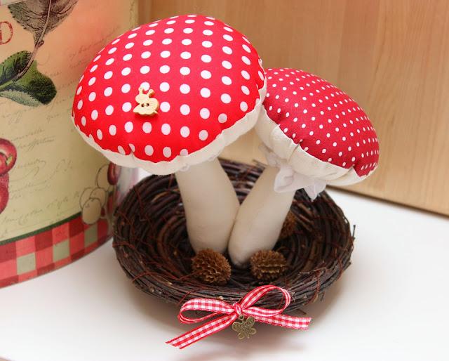 Как сделать объемный гриб своими руками