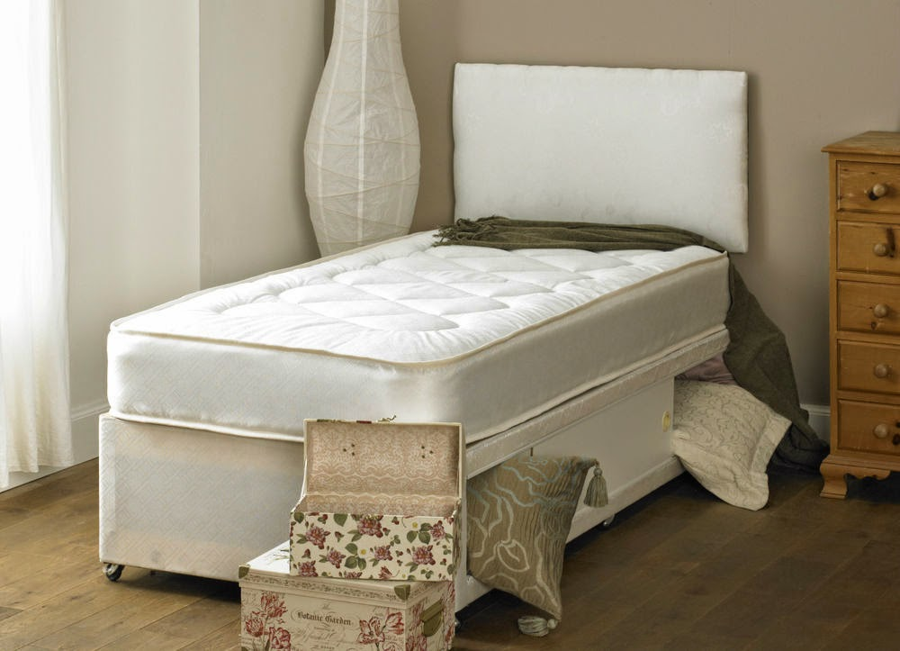 Double Bed with Mattress Storage and Headboard