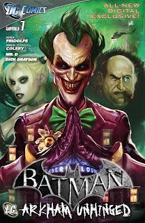 Comics Batman Arkham City Unhinged (Actualizando) 00