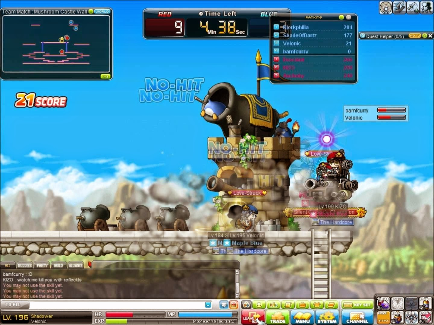 Maplestory PVP Mini Game