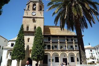 Fachada de Santa María La Mayor