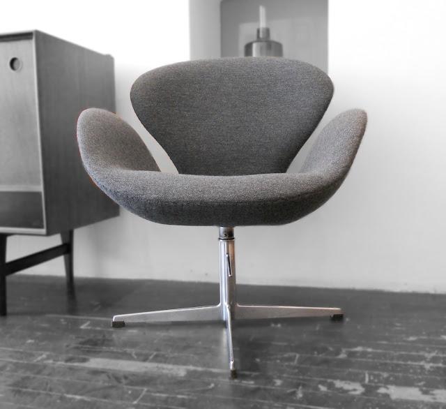 Swan Armchair - designed by Arne Jacobsen in 1958