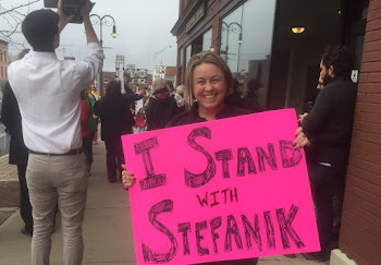 Stefanik Supporter On Hand