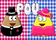 Pou and Pou Girl