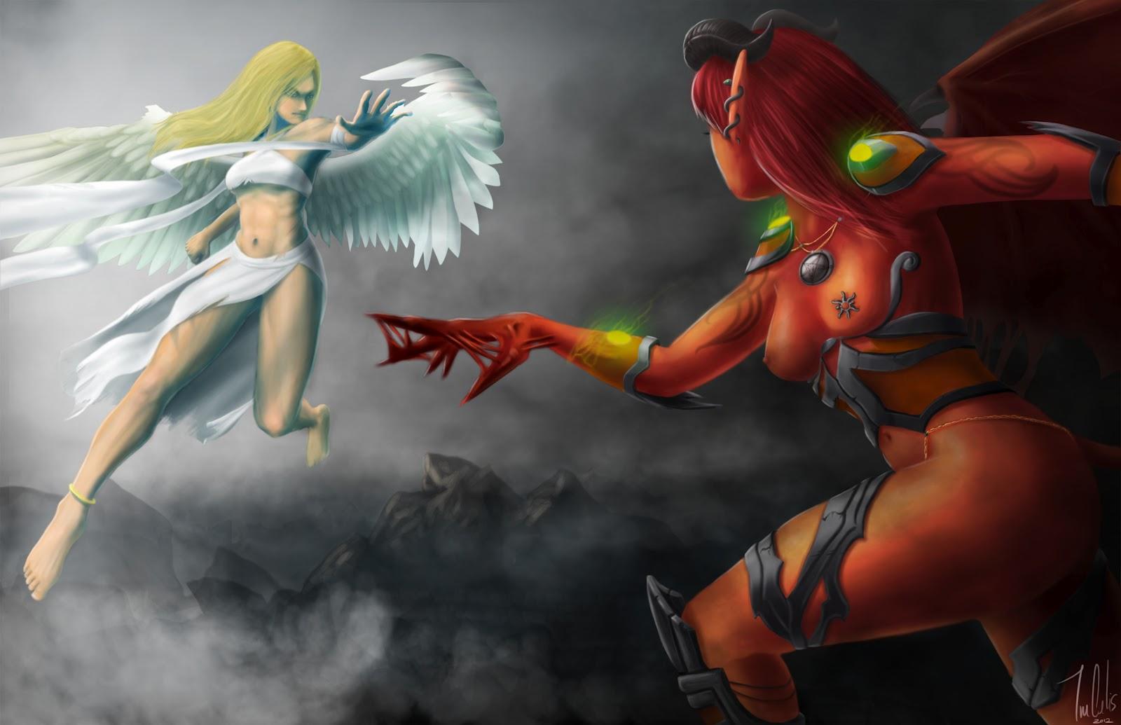 140 best images about Angels vs demons on Pinterest ...