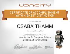 CS101 Certificate