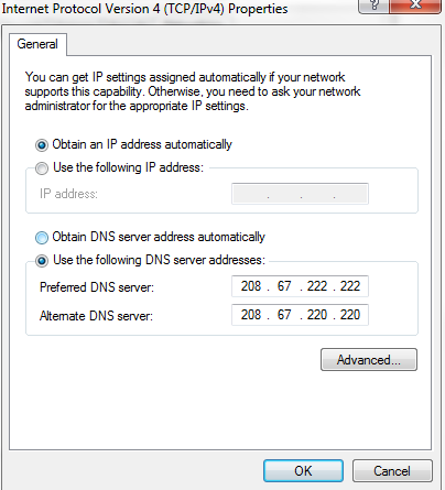 Server Not Found - Troubleshoot connection problems