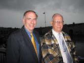 With Former Mayor Tom Walker at Fort Henry in Kingston, Ontario