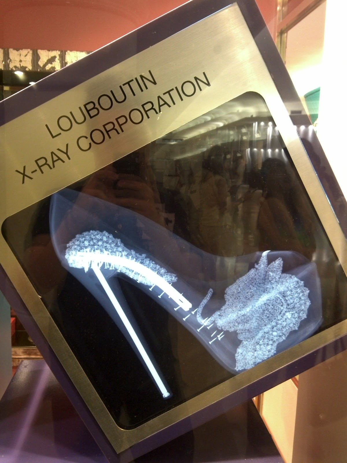 christian louboutin x ray