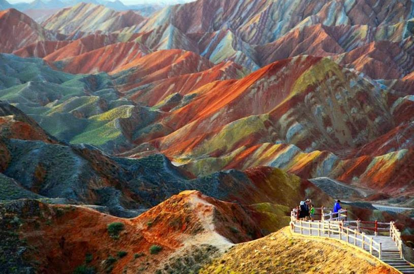 Parque Geológico Zhangye Danxia (Cina)