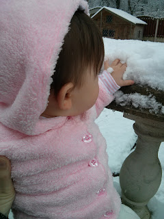 testing out snow