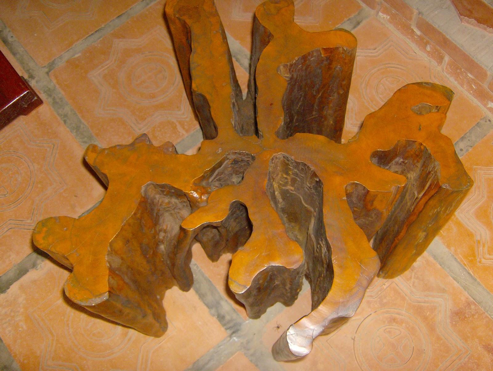 Pink e Dourado: Móveis com tronco de árvores brasileiras #AE5300 1600x1204