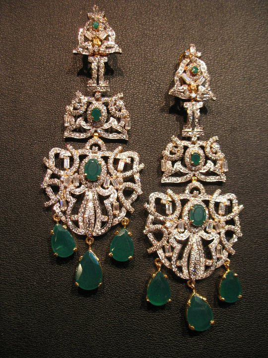 Beautiful elegant stylish Earings summer Collection 2012