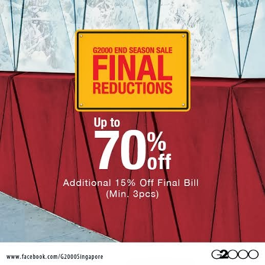 tua lobang g2000 end season sale final reduction additional 15