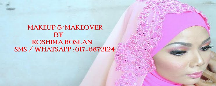 Makeup and Makeover by Roshima Roslan