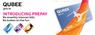 Qubee introduces Prepay Broadband in Pakistan