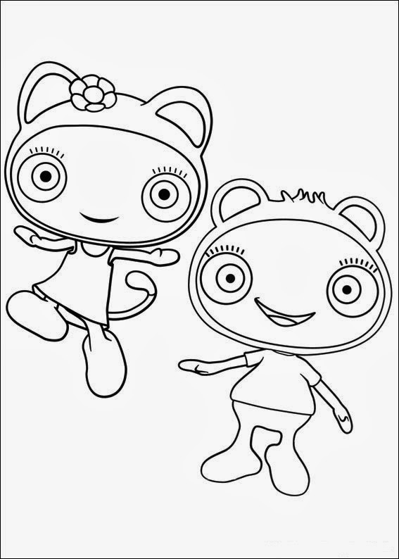 Fun Coloring Pages Waybuloo Coloring Pages