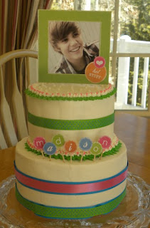 Justin Bieber Cakes For Girls