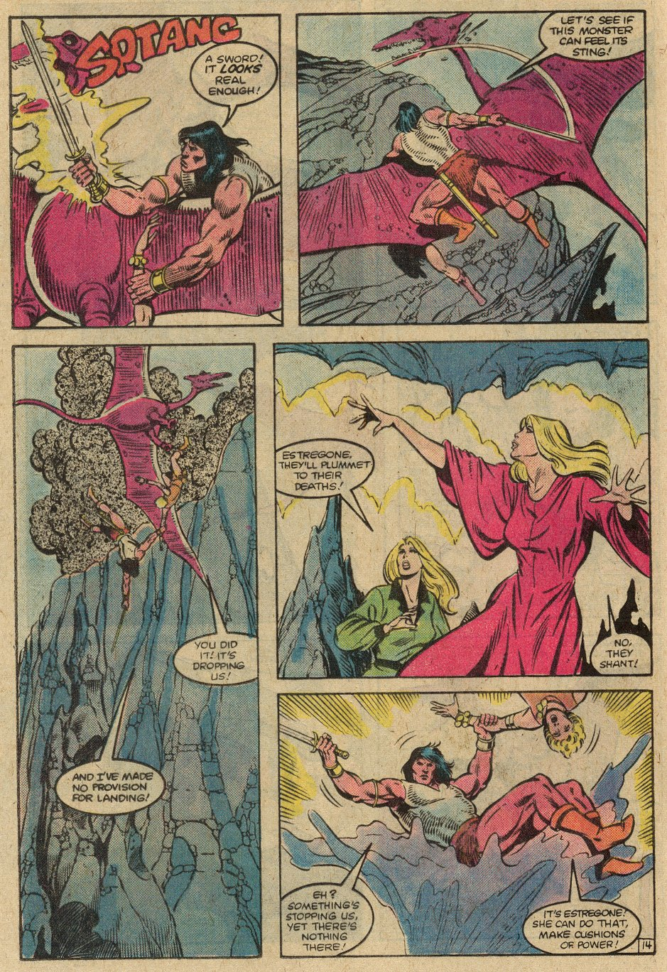 Conan the Barbarian (1970) Issue #146 #158 - English 17