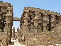 The Great Hypostyle Hall, Temple of Luxor (luxor, Egypt)