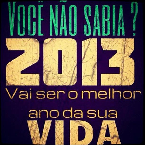 imagem positiva para 2013