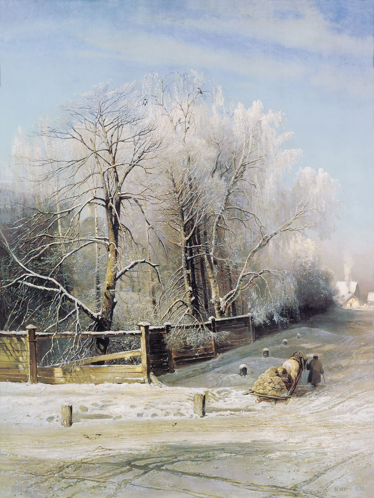 the glory of russian painting alexei savrasov ctd. Black Bedroom Furniture Sets. Home Design Ideas