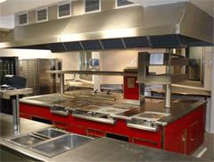 Cocina de restaurante de hotel u hospital